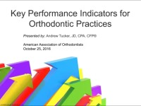 2016 Webinar - Key Performance Indicators for Orthodontic Practices