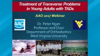 2017 Webinar - Treatment of Transverse Problems in Young Adults with TADs