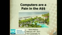 2017 AAO Winter Conf - Computers are a Pain in the ...