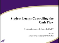 2017 Webinar - Student Loans: Controlling the Cash Flow